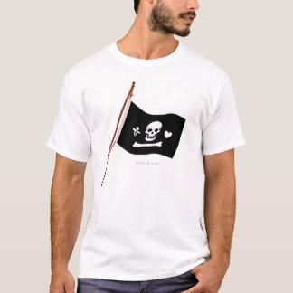 Pirate Stede Bonnet Jolly Roger Fflag T-Shirt