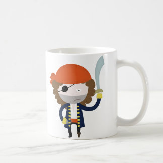 Pirate stereotype coffee mug
