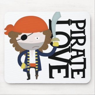 Pirate stereotype mouse pad