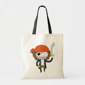 Pirate stereotype tote bag