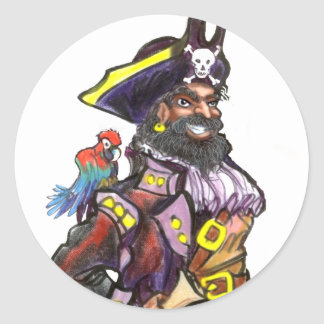Pirate Stickers