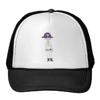 Pirate Stitch girl Trucker Hat