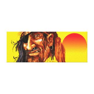 Pirate Sun Canvas Print