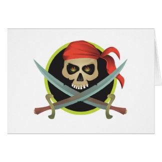 Pirate Symbol Card