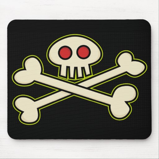Pirate Symbol Mousepad