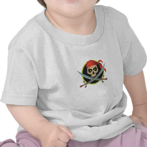 Pirate Symbol Tee Shirts