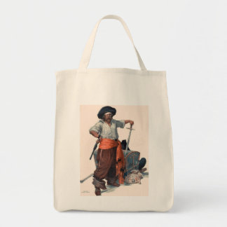 Pirate Takes a Stand Tote Bag
