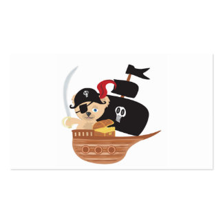 Pirate Teddy Bear Business Card