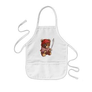 Pirate Teddy  Bear Kids' Apron