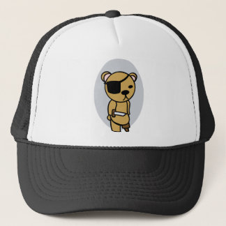 Pirate Teddy Bear Trucker Hat