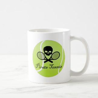 Pirate Tennis w/ Tennis Ball Coffee Mug