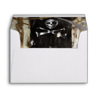 Pirate Theme Birthday or Bachelor Party Invitation Envelope