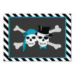 pirate theme party card