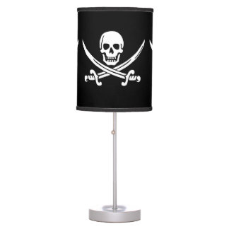 Pirate Themed Decor Table Lamp