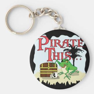 Pirate This... Keychain