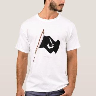 Pirate Thomas Tew Jolly Roger Flag Hoist T-Shirt