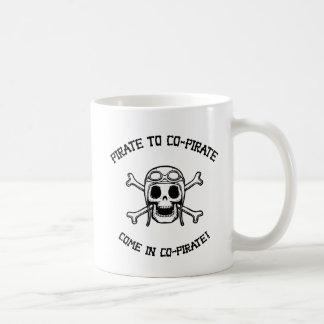 Pirate to Co-Pirate Coffee Mug