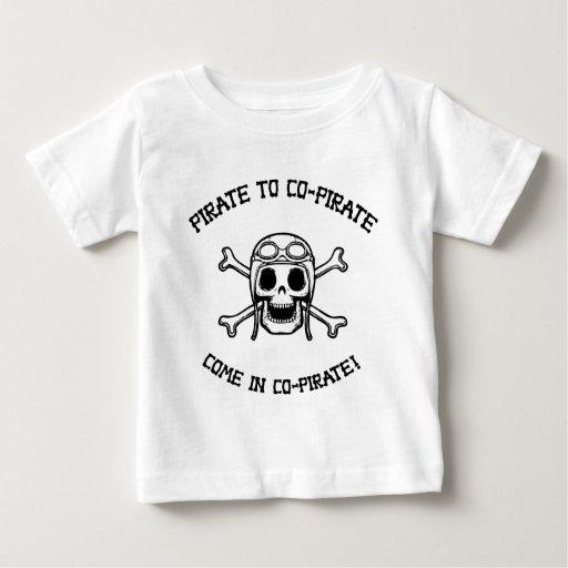 Pirate to Co-Pirate Shirts