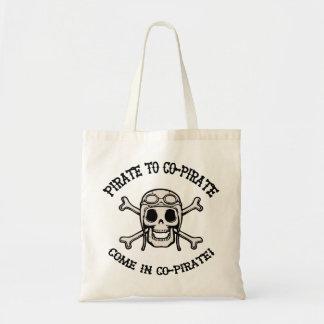 Pirate to Co-Pirate Tote Bag
