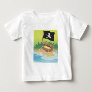 Pirate Treasure Baby T-Shirt