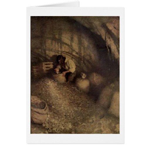 Pirate Treasure Cave Cards