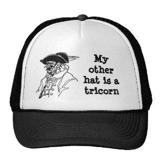 Pirate Tricorn Trucker Hat
