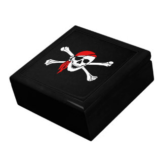 Pirate Trinket/Giftbox Keepsake Box