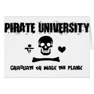 Pirate University Card