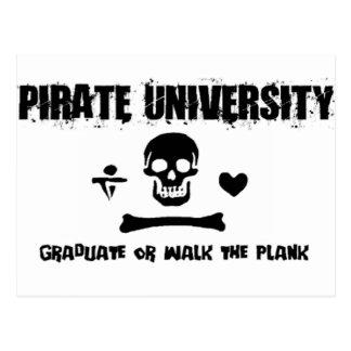 Pirate University Postcard