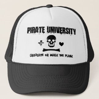 Pirate University Trucker Hat