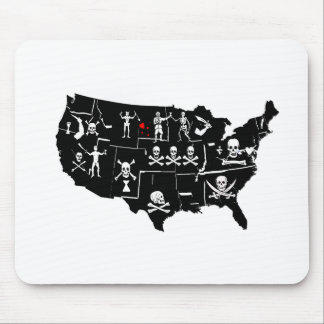 PIRATE USA 5 MOUSE PAD