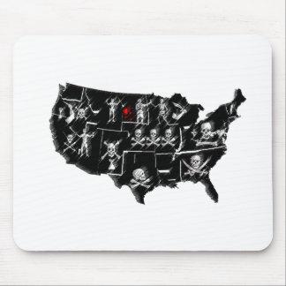 PIRATE USA MOUSE PAD