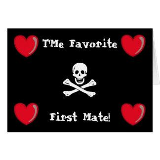 Pirate Valentine Card