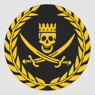 Pirate Victory Sticker - pack of 20