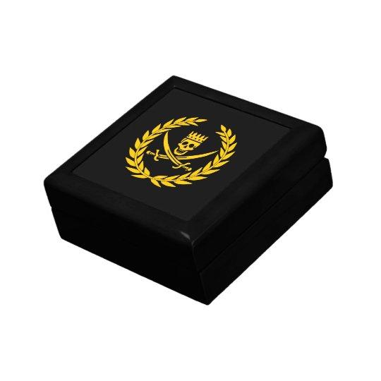 Pirate Victory treasure chest Keepsake Box