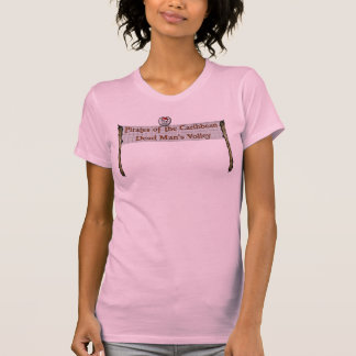 Pirate Volleyball (pink) T-Shirt