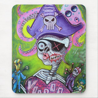 Pirate Voodoo Mouse Pad