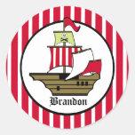 Pirate Voyage Sticker