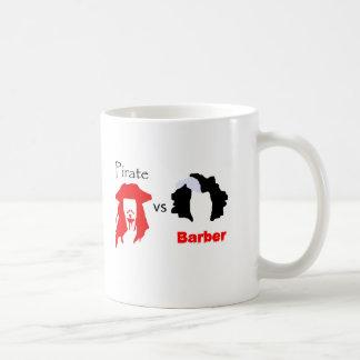 Pirate vs Barber Coffee Mug