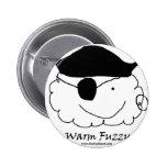 Pirate Warm Fuzzy Pins