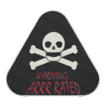 Pirate Warning - Arrr Rated Bluetooth Speaker