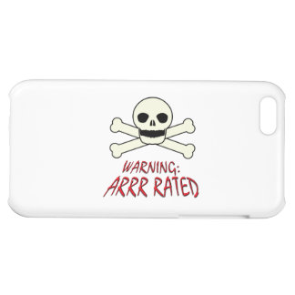 Pirate Warning - Arrr Rated Case For iPhone 5C