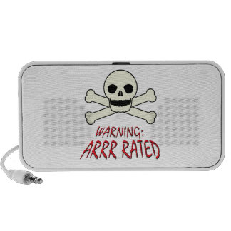 Pirate Warning - Arrr Rated PC Speakers