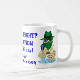 Pirate Water Bandit NOT JUMBO CustomizeAll Styles Coffee Mug