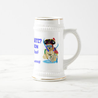 Pirate Water Conservation Customize All Styles Beer Stein