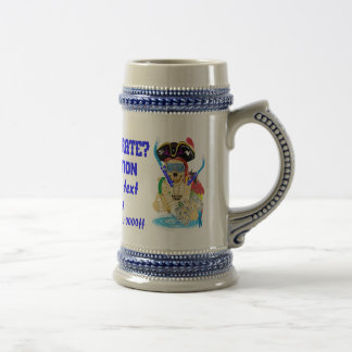Pirate Water Conservation Customize All Styles 18 Oz Beer Stein