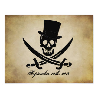 Pirate Wedding Invitation