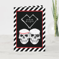pirate wedding invitations