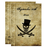 Pirate Wedding Invtation Invitation