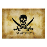 Pirate Wedding RSVP Response Card Personalized Announcements